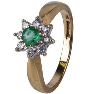 For Sale In Strathroy - Diamond & Emerald Ring