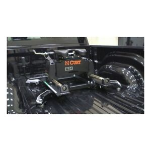 CURT Q24 5th Wheel Hitch with Roller and Adapter Base