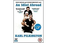 Hilarious Karl Pilkington DVDs