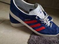 Adidas Gazelle indoor trainers uk 11 rare