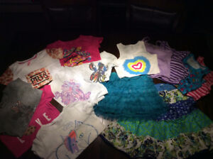 Lot vêtements fille 7-8 ans (M)