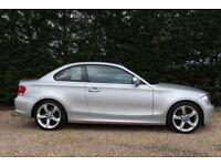 BMW 1 SERIES 118D SPORT (silver) 2011