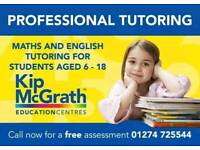 Tuition: Maths English Science Professional Tutoring