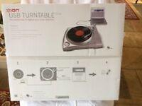 USB turntable, vinyl to digital