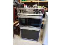 Intergrated double oven & grill