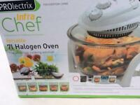 Halogen oven prolectrix 7litre halogen unused