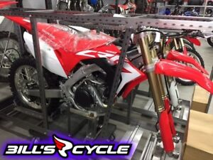 2017 HONDA Competition CRF 450 RH   RR Red