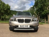 BMW X1 2.0TD XLINE 4WD 5DR METALLIC GOLD, LOW MILES, HIGH SPECIFICATION NEW CAR FORCES SALE