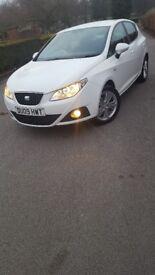 Seat Ibiza SE 1.4 petrol 5dr white