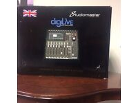 Studiomaster DIGILIVE16 16-Channel Digital Mixing Console - BRAND NEW