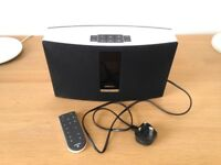 White Bose Soundtouch 20 Series II wifi internet radio and music player