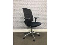 Vitra Meda Pro XL Black Mesh Office Chair