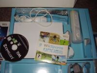 NINTENDO WII WITH GAMES ALL BOXED