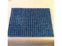 Turquoise Glass Mosaic Tiles for splashback