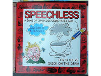 SPEECHLESS Box / Board Game, 'A game of charades using paper/pencil'