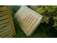 Wooden bin store - only 1 left!