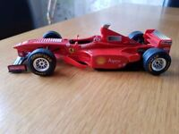 Rally and F1 model cars