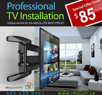 iMount-TV Installation & TV Wall Mounting Services