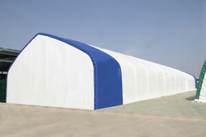 Portable Commercial Fabric Buildings - Storage Shelter Coverall