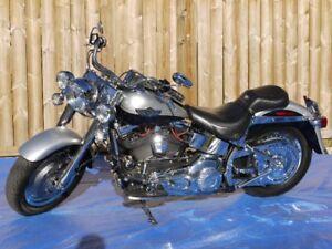 100 th Anniversary 2003 Harley Davidson FLSTFI Fatboy