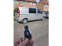 Mercedes spare replacement 3 or 2 button key c class w203 w204 e w211 w212 B class ML A class ALL