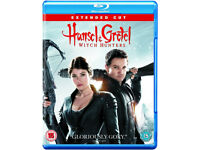 Hansel & Gretel - Witch Hunters [Blu-ray] VGC
