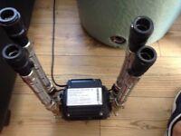 Monsoon Standard 3 bar Twin Pump