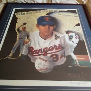 The Great Nolan Ryan - 2 Exceptional Pieces for Sale