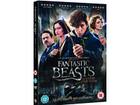 Fantastic beasts & where to find them dvd