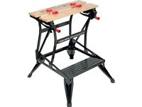 Black and Decker WM536 Vertical Clamp Dual Height Workmate Plus Workbench - boxed and unopened