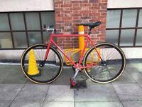 Pinarello Vintage 1981 track conversion fixed gear Colnago lugs Campagnolo racing bike