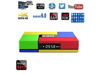 T 95k octa core android smart tv box 2gb ram/16gb rom.4k-3d-uhd. Comes with xbox 360 wireless contr.