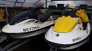 2 Jet Ski's - 2000 WAVERUNNER And 2007 SEADOO