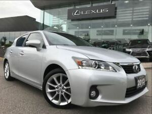 2013 Lexus CT 200h Premium Pkg Backup Cam Leather Sunroof