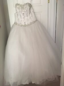 Princess heart wedding dress