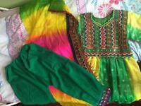 Afghan dress for kids