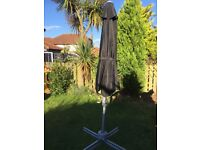 Blooma Overhanging Cantilever Parasol with Cover - Used Once