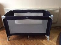Babideal Travel Cot with Laura extra thick mattress