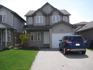 Detached home in northeast end of Guelph.