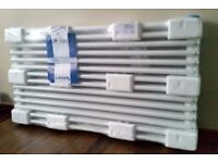 Brand new steel column radiators