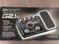 ZOOM G2.1u Effects Pedal