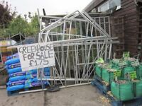 Green house ready dismantled