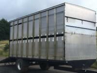 Cattle sheep trailer
