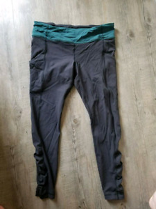 Lululemon running pants size 10