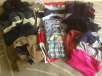 Boys Kids Clothes Selection Bundle Age 7 M&S Next Umbro JJeans Jasper Conran