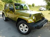 2007 Jeep Wrangler 2.8 CRD Sahara Unlimited 4dr Auto FSH! 4 door Convertible