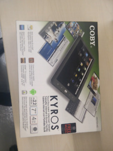 Coby Kyros Mid7024 tablet. Brand new condition. REDUCED!!
