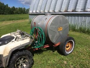 Yard water trailer