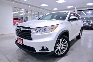 2014 Toyota Highlander XLE, ONE OWNER, NON SMOKER, FULL SERVICE