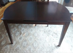 Solid Heavy Cherrywood Dining Table & 6 Chairs